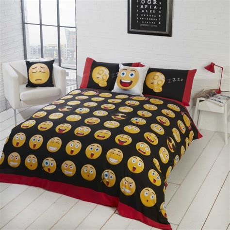 emoji quilt cover icons emoji reversible duvet cover set single fun and