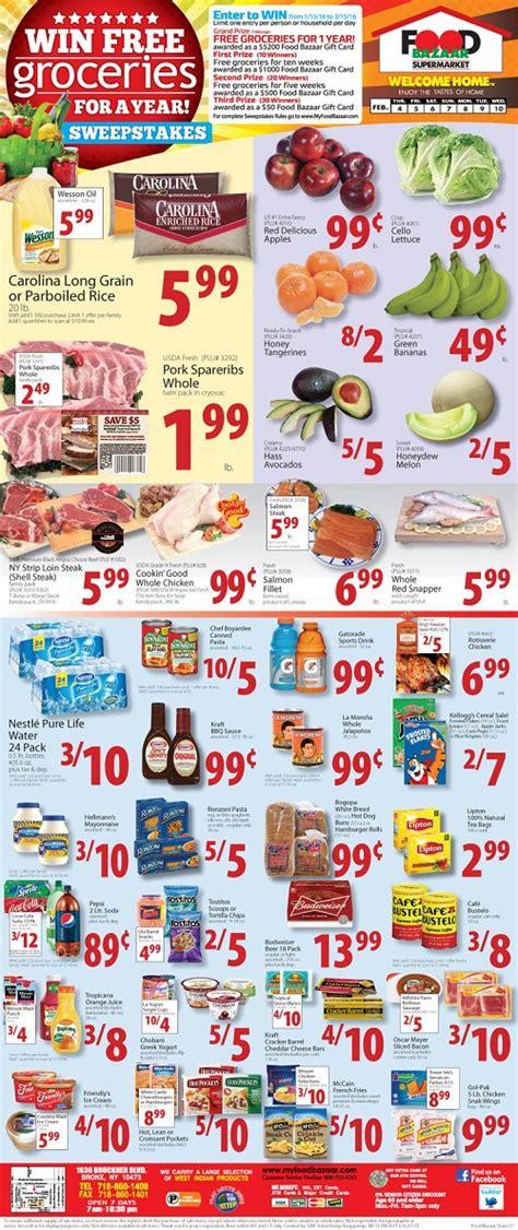 hispanic weekly ads food bazaar supermarket weekly ad circular