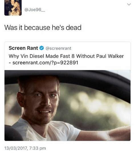 Paul Walker Meme - 25 best memes about paul walker paul walker memes