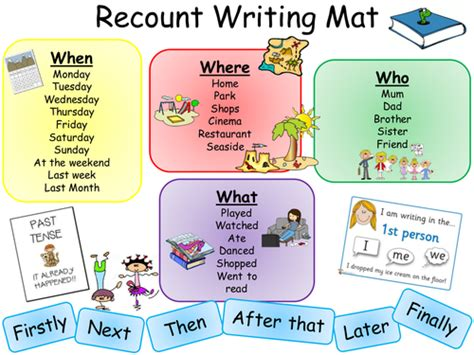 ks2 ideas for writing recount writing mat ks2 literacy literacy english and