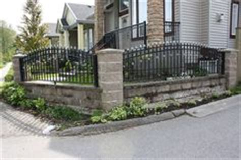 front yard iron fence 1000 images about front yard landscaping ideas on