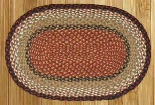 country braided rugs oval braided rugs by earth rugs country decor primitive decor bedding
