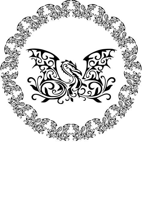 Clipart circle dragon, Clipart circle dragon Transparent
