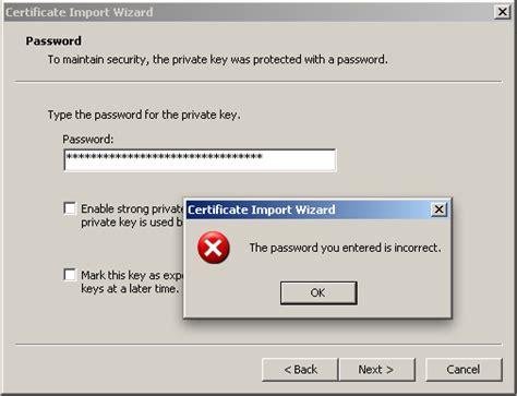 password pattern error may 2009 raam dev