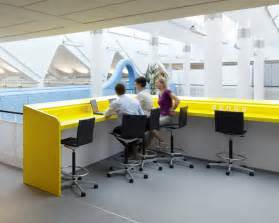 Lego Office Yellow Office Meeting Bar Interior Design Ideas