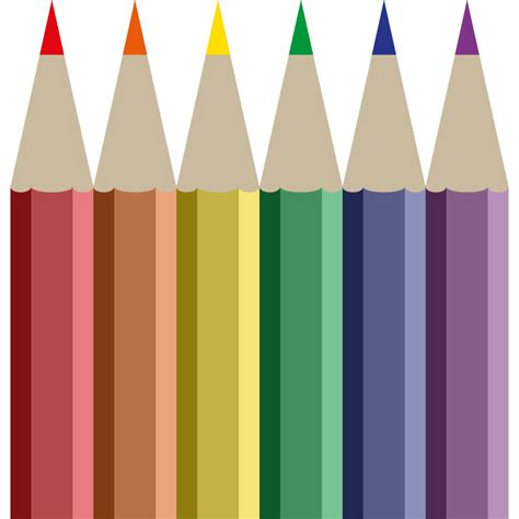 %name Colored Contact   Colored Pencils Cliparts   The Cliparts