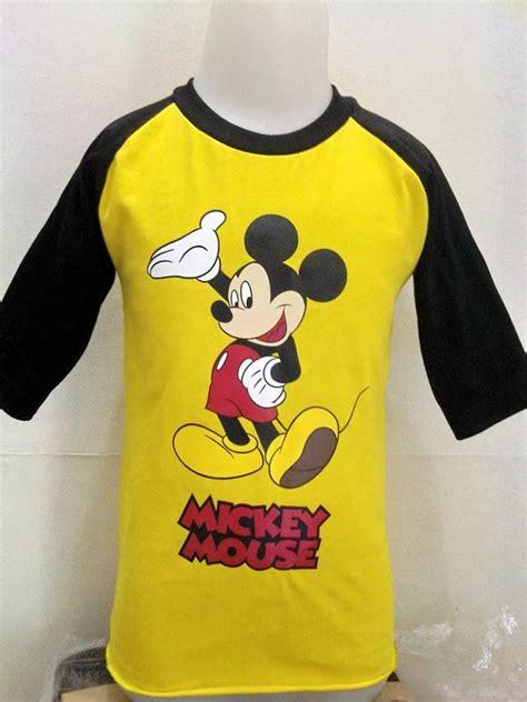 Kaos Anak Karakter Mickey kaos anak karakter disney murah toko baju anak