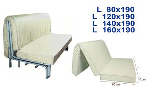 materasso per divano letto materasso divano letto prontoletto alto 10 cm