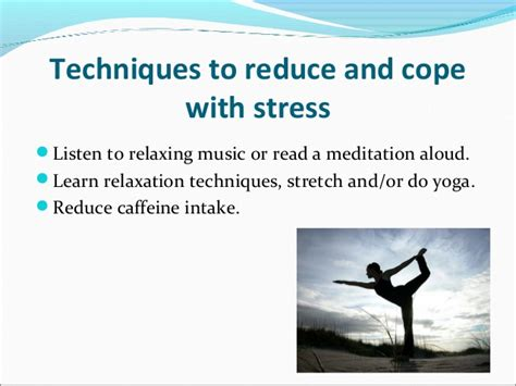 coping with cancer and anxiety breathing relaxing being managing stress seflin staff development by alyse ergood