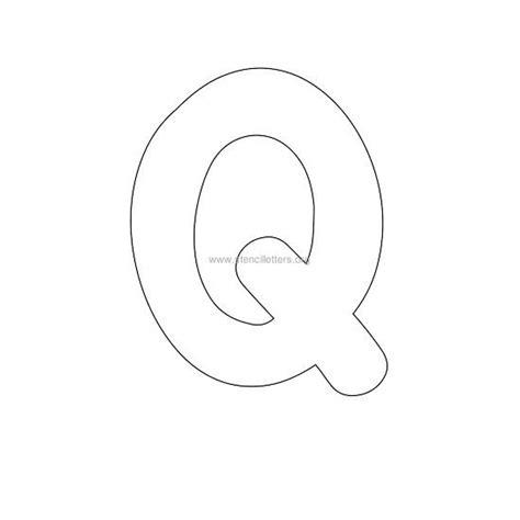 Bubble Letter Stencils | Stencil Letters Org Q Bubble Letter