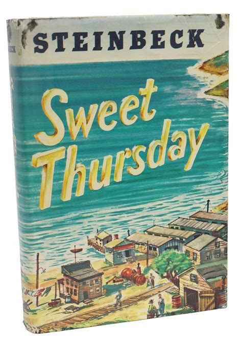 Thursday Three From Book To 2 by Sweet Thursday By Steinbeck Hardcover Signed