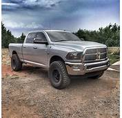 Silver 4th Gen Ram With Method Wheels  Dodge Pickup