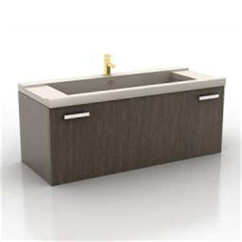 Kitchen Wash Basin Models 3d Sanitary Ware Wash Basin N121208 3d Model Gsm