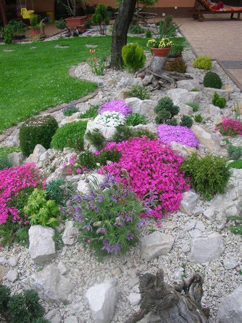 586 Best Rock Garden Ideas Images On Pinterest Garden Rock Garden Bed Ideas