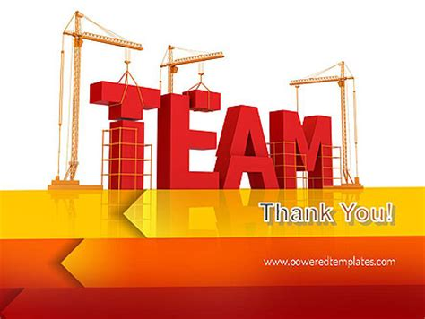 team building powerpoint presentation templates team building construction powerpoint template