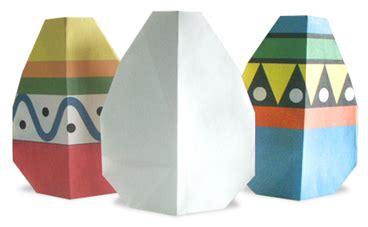 Easy Origami Easter Egg - origami egg