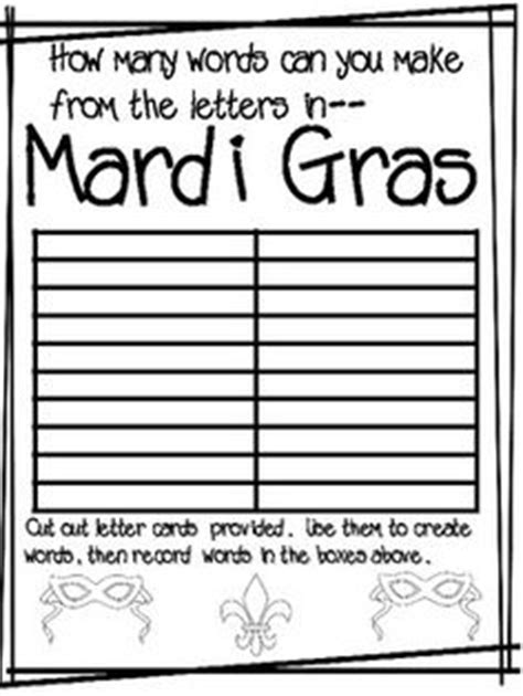 printable games for mardi gras 1000 images about word games on pinterest word search