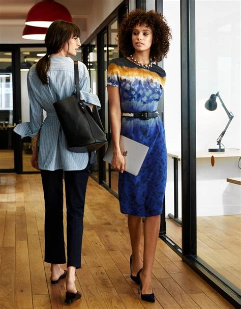 Bj 378 Office Style Black Dress the new way are dressing for work wsj