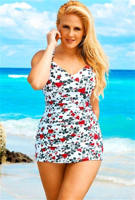 my fav swimsuits for top heavy women elans picks nattyjays 2016 hot floral printed swimwear women one piece wide