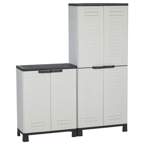 armoire de rangement pour garage pas cher