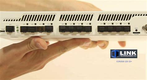 Mikrotik Ccr1016 12s 1s 2gb Ram 12 Port Gigabit Sfp Murah mikrotik link technologies inc