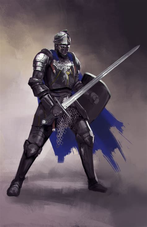 a knight of the medieval knight by jeffchendesigns on