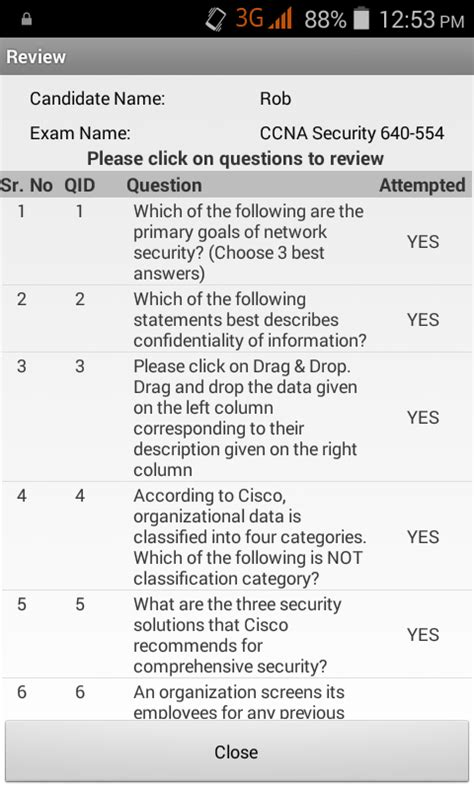 Practice Test 3 Section 1 Choice Questions by Ccna Sec 210 260 Practice Test Android Apps On Play