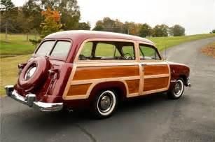 1950 ford custom woody wagon 161869