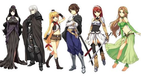 the sacred blacksmith the sacred blacksmith characters search anime