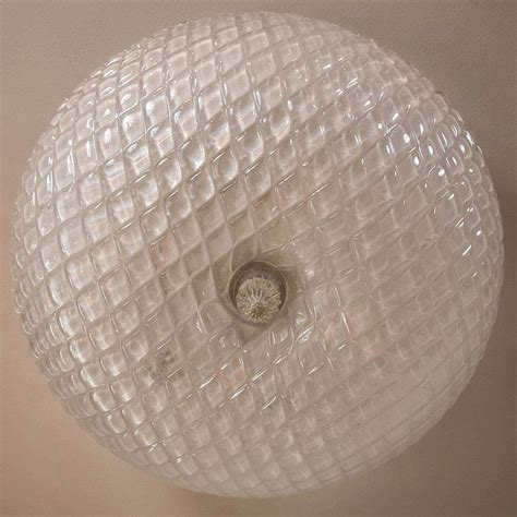 Ceiling Light Texture Pair Of Textured Murano Ceiling Lights At 1stdibs