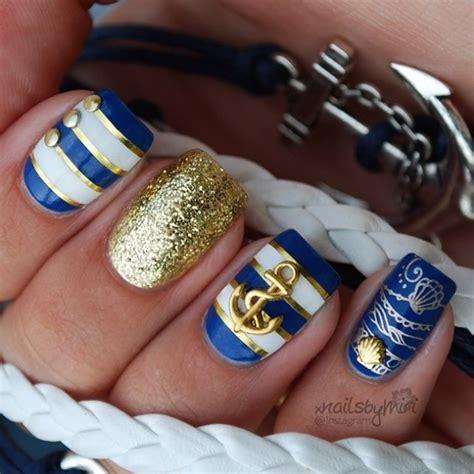 nautical design 16 nautical anchor nail designs for summer fashionsy