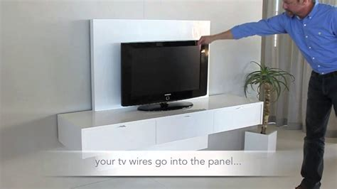 Tv Wall Panel Furniture by Ode2u Floating Tv Unit Fsf18tvp12 1 Youtube