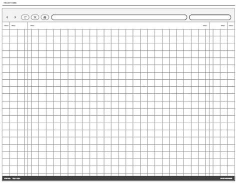 Free Printable Sketching Wireframing And Note Taking Pdf Templates Smashing Magazine Sketch Web Template