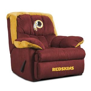 Redskins Recliner by Baseline Licensing At Reclinerdealers High Leg Pop Up Reclining Chair And Ottoman