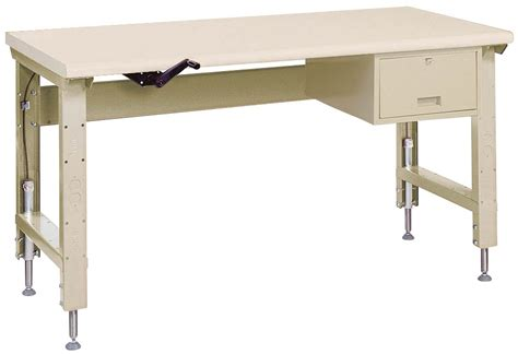 lyon work bench lyon adjustable ergonomic work bench indoff
