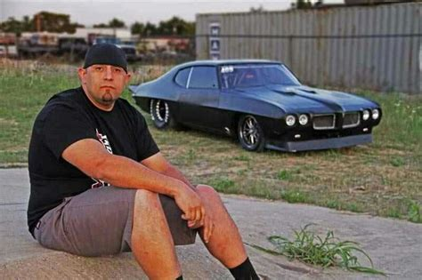 street outlaws big chief crow big chief the crow street outlaws 1972 pontiac lemans