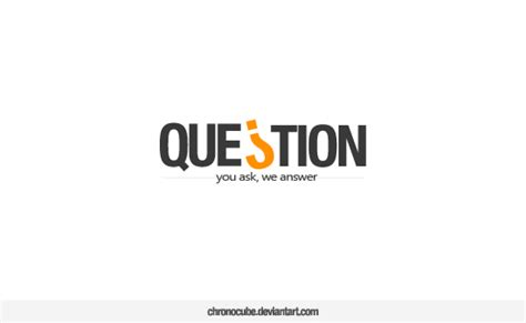 logo development questions question logo design by chronocube on deviantart
