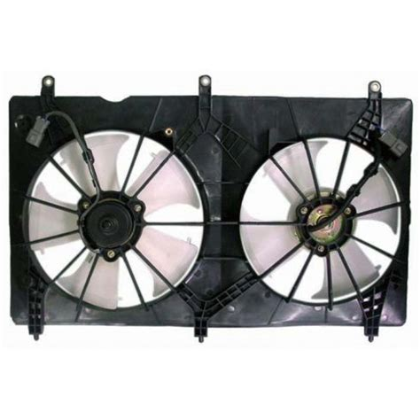 Complete Fan Systems Valeo Service 2003 07 Honda Accord Radiator Cooling Fan Assembly