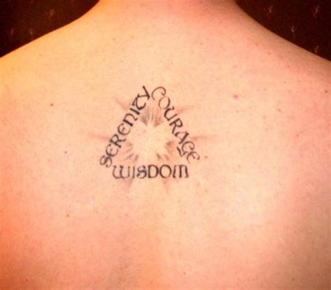 serenity courage wisdom tattoo 50 moving serenity prayer designs inkdoneright