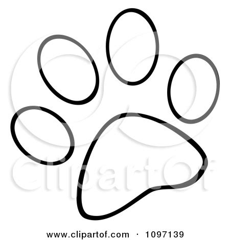dog paw coloring page free coloring pages on art