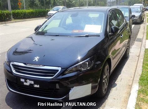 peugeot malaysia spyshots 2015 peugeot 308 spotted in malaysia