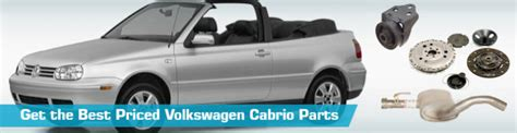 Volkswagen Cabriolet Parts by Volkswagen Cabrio Parts Partsgeek
