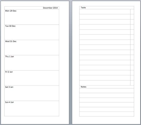 2 page per week planner template calendar with two months per page calendar template 2016