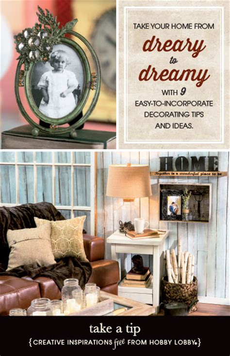 hobby lobby home decor ideas hobbylobby projects take a tip
