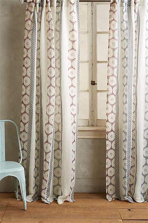Spliced Shibori Curtain in Neutral and Navy