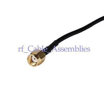 Pigtail Mmcx Right Angle Rpsma rf pigtail rp sma to mmcx right angle cable rg superbat