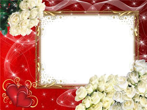 free valentine templates for photoshop roses psd frames for girls and women