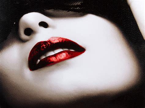 imagenes de labios a blanco y negro cuadro chica con labios rojos en impresi 243 n digital