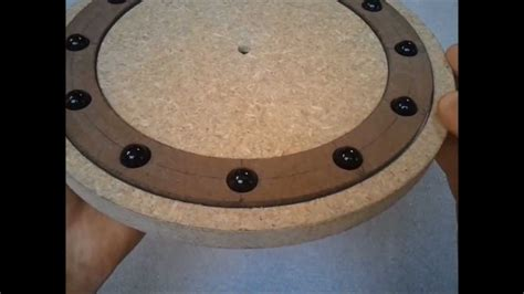 how to make a lazy susan for a kitchen cabinet a wooden bearing for a lazy susan part 1 of 4