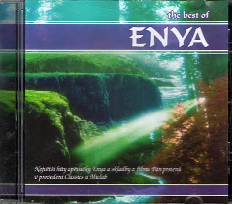 the best of enya cd audio zahraničn 237 rock pop the best of enya cd